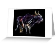 OX - Chinese Zodiac by Liane Pinel Greeting Card