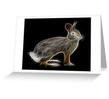 Rabbit - Chinese Zodiac by Liane Pinel Greeting Card