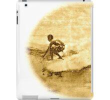 Sepia Surfer iPad Case/Skin