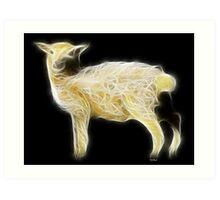 Sheep - Chinese Zodiac by Liane Pinel Art Print