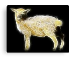 Sheep - Chinese Zodiac by Liane Pinel Canvas Print