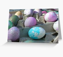 """""""Easter Eggs"""" Greeting Card"""