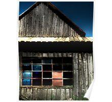 Barn Window Poster