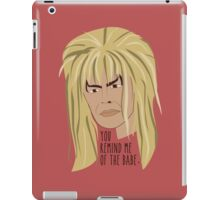 The Babe With the Power iPad Case/Skin