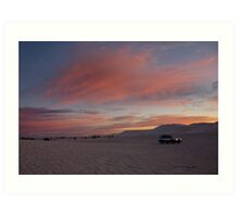 skyscapes #61, headlights Art Print