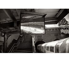 Kensal Green tube station London Photographic Print