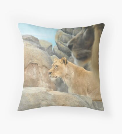 The Overseer Throw Pillow