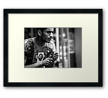 peoplescapes #312, che Framed Print