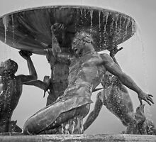 Triton Fountain by Bokeh  Photography