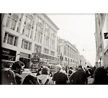 OXford street london Photographic Print