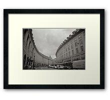 Regent street London Framed Print