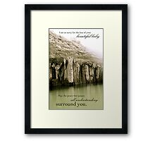 Peace That Passes All Understanding Framed Print