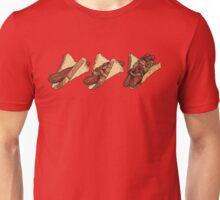 Snags: 3 Snags Unisex T-Shirt