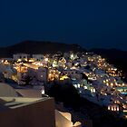 Oia at Dusk by Mariano57