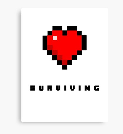 Gaming Heart (Full) Canvas Print