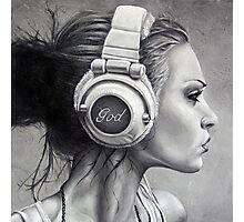 LISTEN Photographic Print