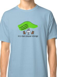 Simple Things - Winery Classic T-Shirt