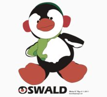 Oswald T. Penguin - T-shirt One Piece - Short Sleeve