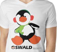 Oswald T. Penguin - T-shirt Mens V-Neck T-Shirt