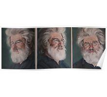 Renaissance Man: Dr Peter Tait (Triptych) Poster