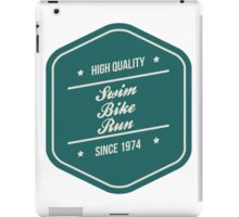 High Quality: Swim Bike Run iPad Case/Skin