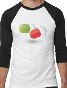 Drugs Men's Baseball ¾ T-Shirt