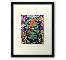 Frankenbowie  Framed Print