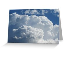 Anniversary Clouds Greeting Card
