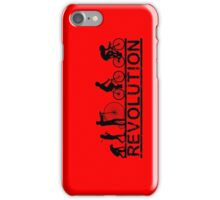 Cycling Revolution iPhone Case/Skin