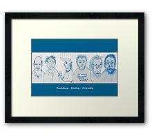 Buddies... Mates... Friends Framed Print