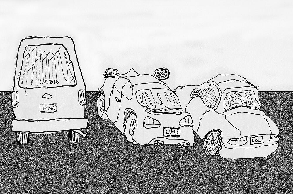 The Parking Lot by James Lewis Hamilton