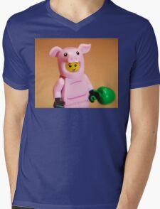 Oink Mens V-Neck T-Shirt