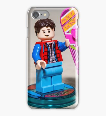 Marty is ready iPhone Case/Skin