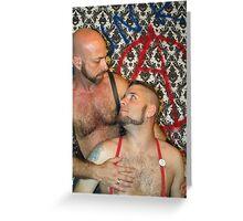 Master & slave Greeting Card