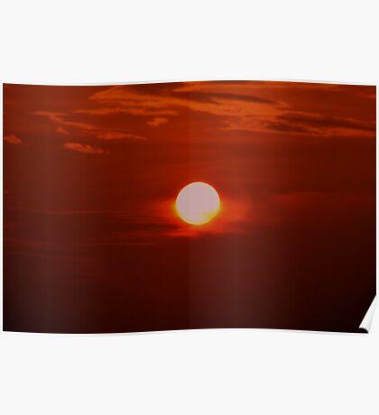 Glaring Sun Poster