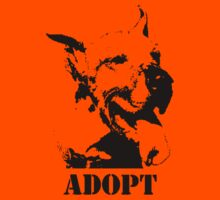 NO-KILL UNITED : ES ADOPT Kids Tee