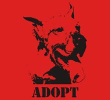NO-KILL UNITED : ES ADOPT Baby Tee