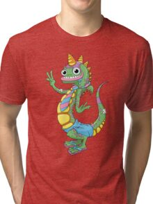 Drooling Dragon Tri-blend T-Shirt