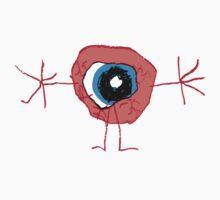the eyeball man Kids Clothes