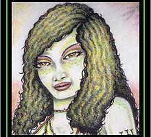 A Portrait of the Lizard Queen by Sean Phelan
