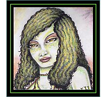 A Portrait of the Lizard Queen Photographic Print