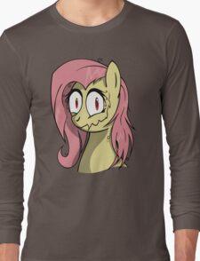 Flutter creepin Long Sleeve T-Shirt