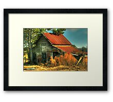 Caudell Road Barn Framed Print