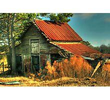Caudell Road Barn Photographic Print