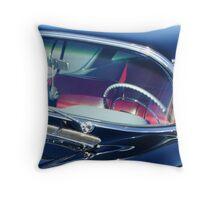 Voodoo Cadillac Throw Pillow