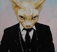 Mister Cat by Michael Creese