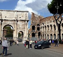 ruins of Rome by Ivana Pinaffo