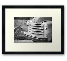 Abandoned Truck Framed Print