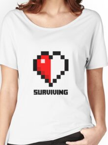 Gaming Heart Women's Relaxed Fit T-Shirt