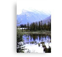 Vermillion's View Canvas Print